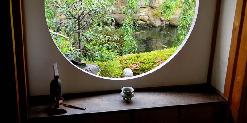 願成寺 円窓