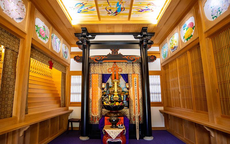 願成寺の永代供養を行う寿光殿