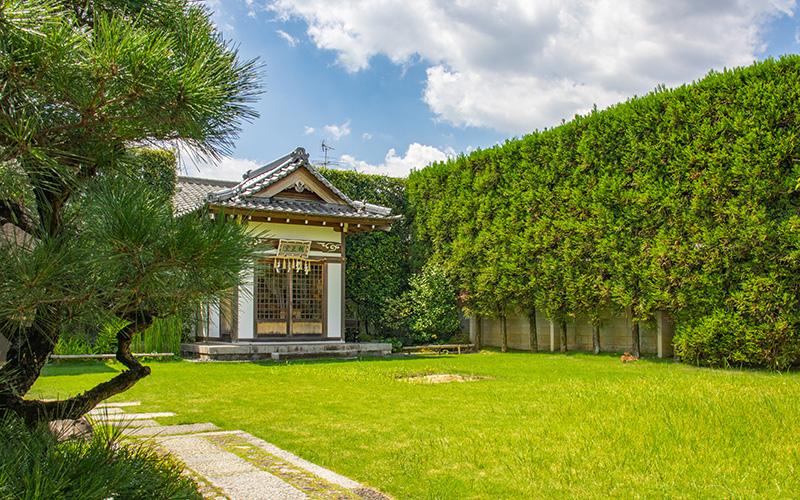 願成寺の親王堂