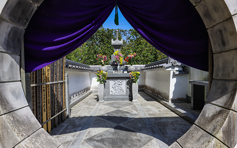 願成寺の永代供養-納骨塔